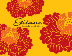 GITANE FULL FLOWERS WITH NAME